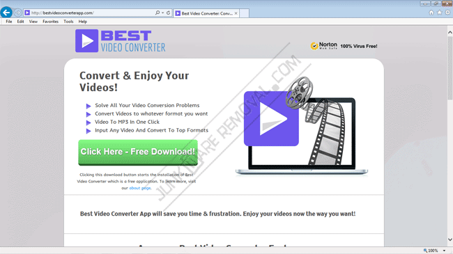 Remove Best Video Converter virus
