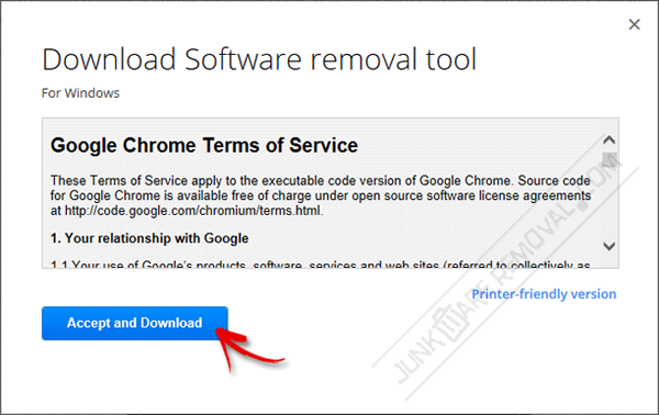 Download Software Removal Tool