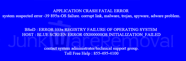 APPLICATION CRASH FATAL ERROR