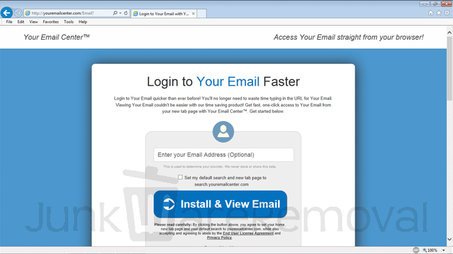 Your Email Center
