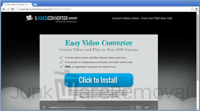 Easy Video Converter Access