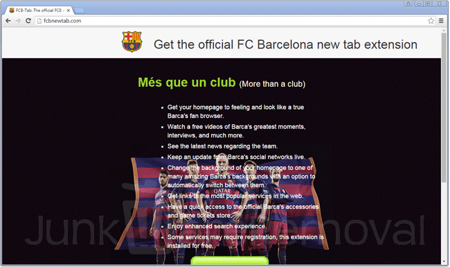 FCB Tab Extension