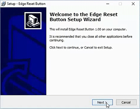 Install Edge Reset Button