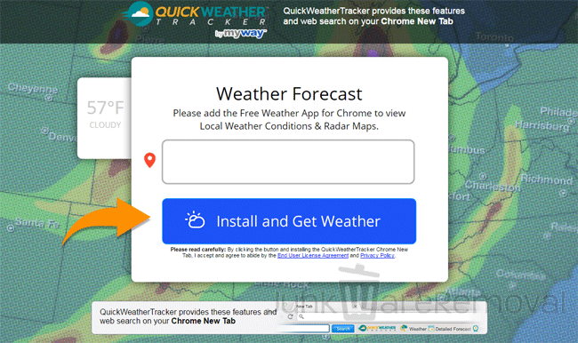 Quick Weather Tracker