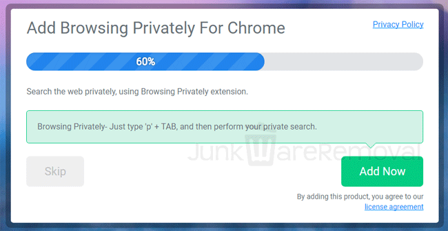 Browsing Privately