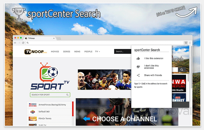 SportCenter Search